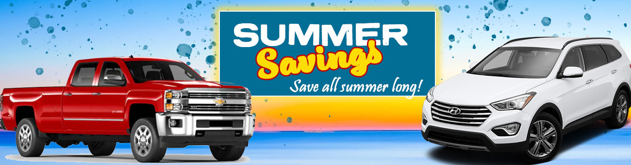 Summer Savings at Carco Auto World