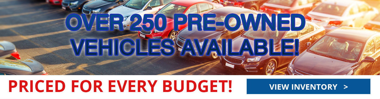Over 250 preowned vehicles at Carco Auto World